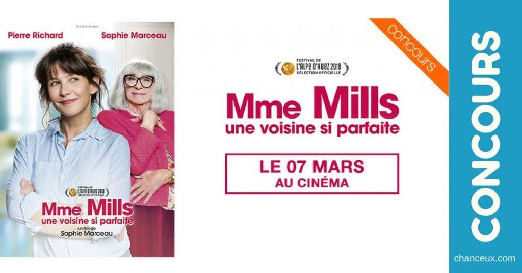 Gagnez 1 des 50×2 places pour voir « Mme Mills, une voisine si parfaite »