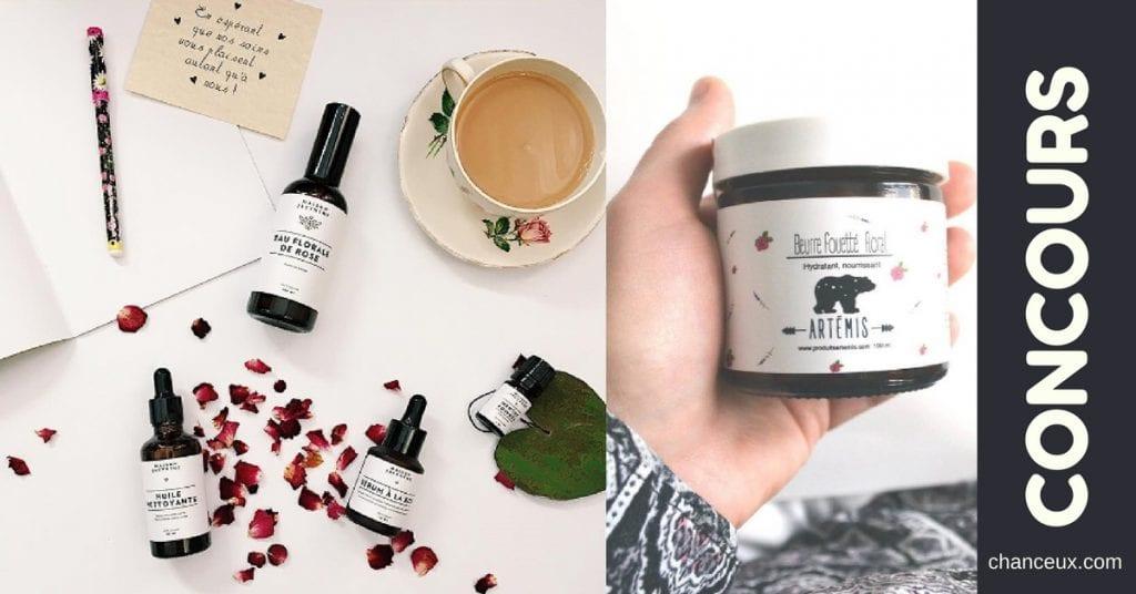 Gagnez un trio de produits cosmétiques Artémis !