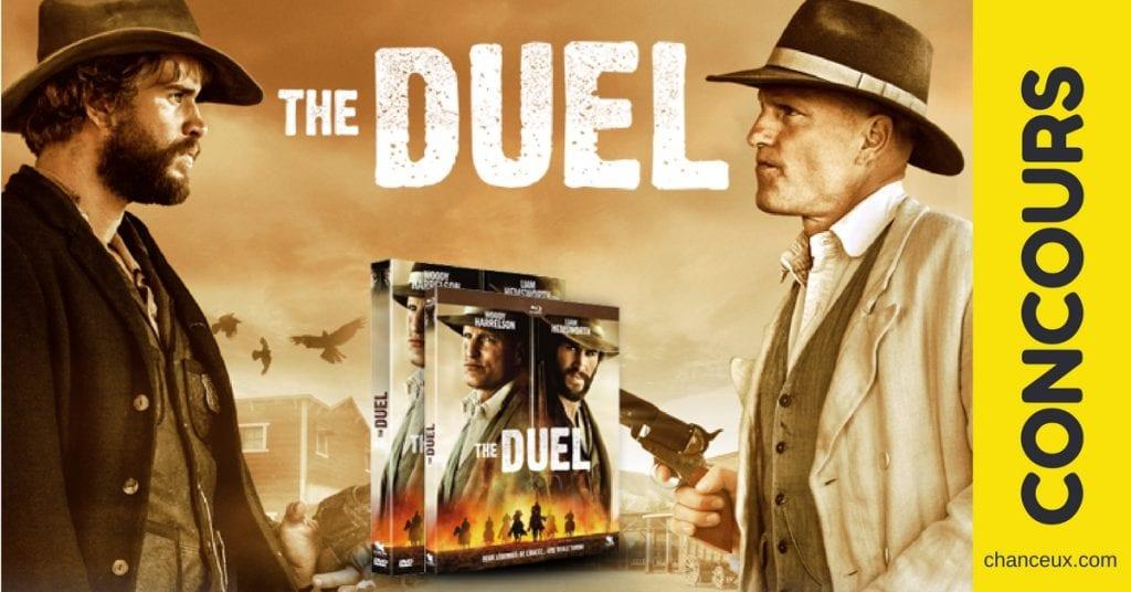 """Gagnez un des 10 DVD et 10 BR du film """"The Duel"""""""