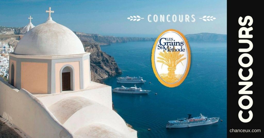 Gagnez 1 Voyage en Grèce pour deux personnes