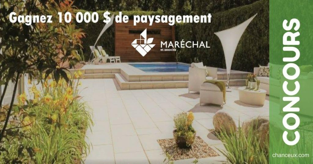 Gagnez 10 000$ en services de paysagement!