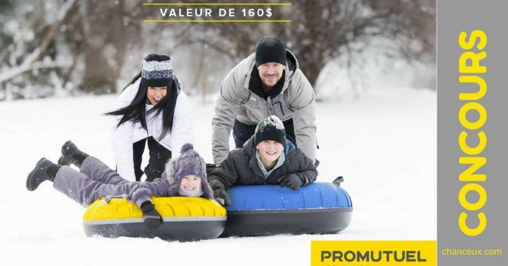 Gagnez une journée plein-air pour 4 personnes au Village Vacances Valcartier!