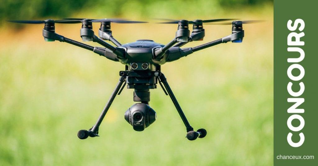 Gagnez un Drone livré directement chez vous !