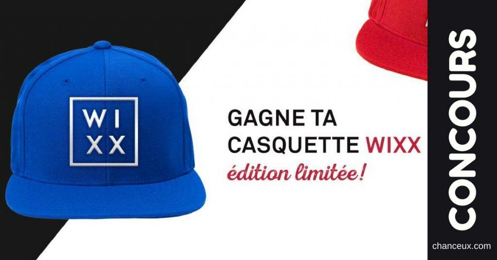 Gagnez l'une des deux casquettes WIXX édition limitée !