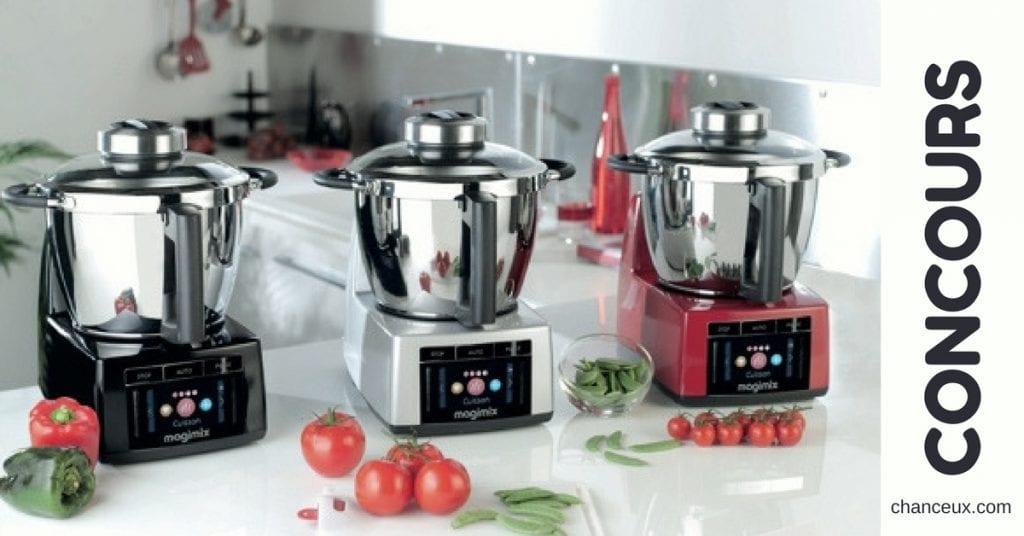 """Gagnez votre robot Magimix """"Cook Expert"""" d'une valeur de 1199 euros !"""