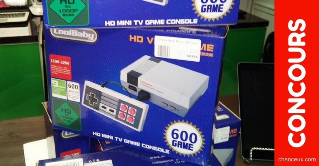 Concours Québec Gagnez un des nombreux Nintendo classiques!