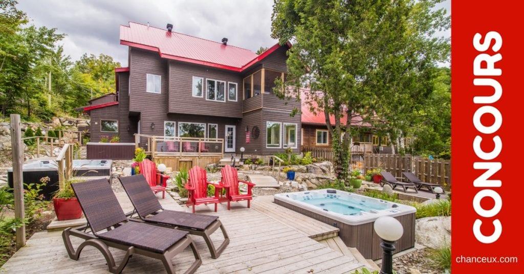 Concours Québec - Gagnez un séjour à l'Auberge du Lac Morency!