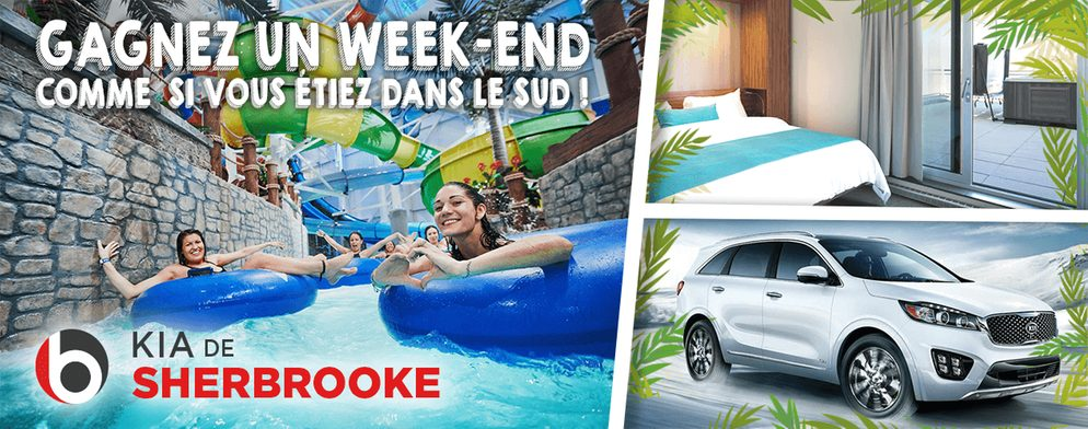 Gagnez un week-end familial dans la Capitale grâce à Kia de Sherbrooke