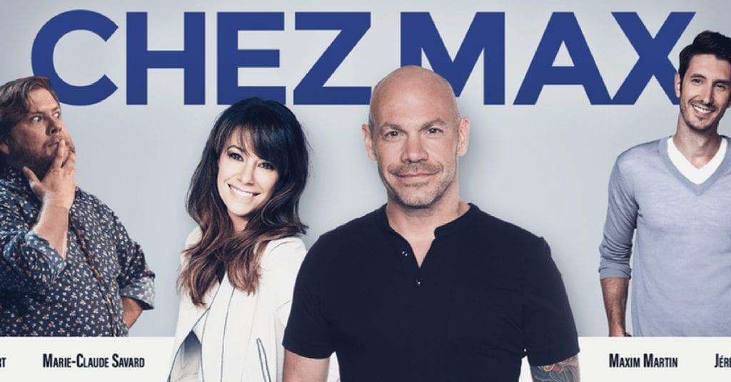 Gagne tes places pour l'enregistrement de l'émission CHEZ MAX