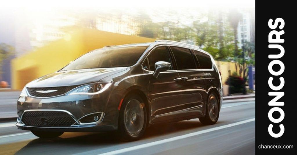 Gagnez une Chrysler Pacifica 2018 ou 5000$ pour votre hockey mineur!