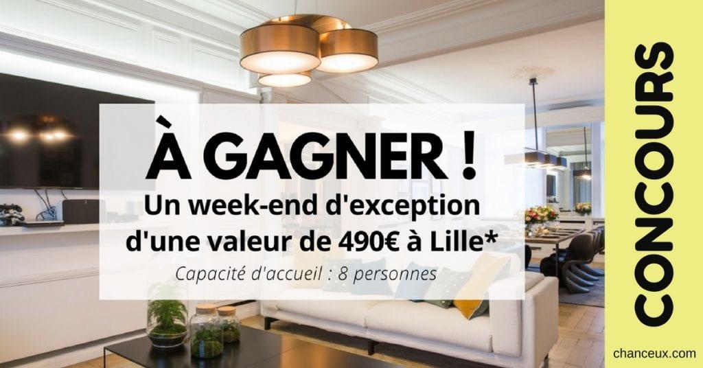 Gagnez un week-end pour 8 personnes à Lille!