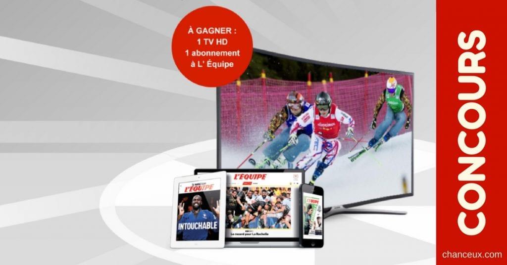 Gagner un téléviseur HD Samsung d'une valeur de 500 Euros!