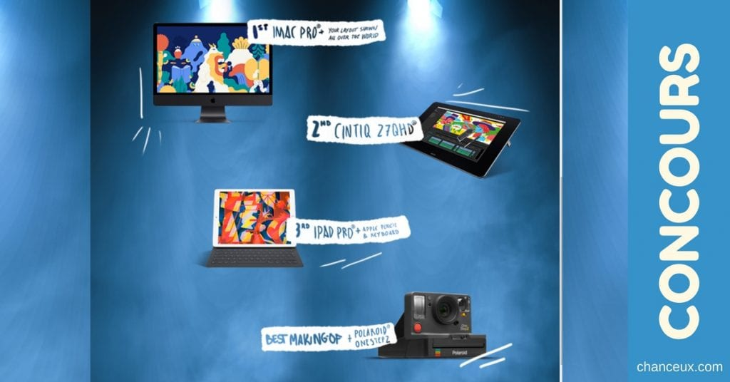 Gagner un ensemble créatif de 4 produits électroniques!