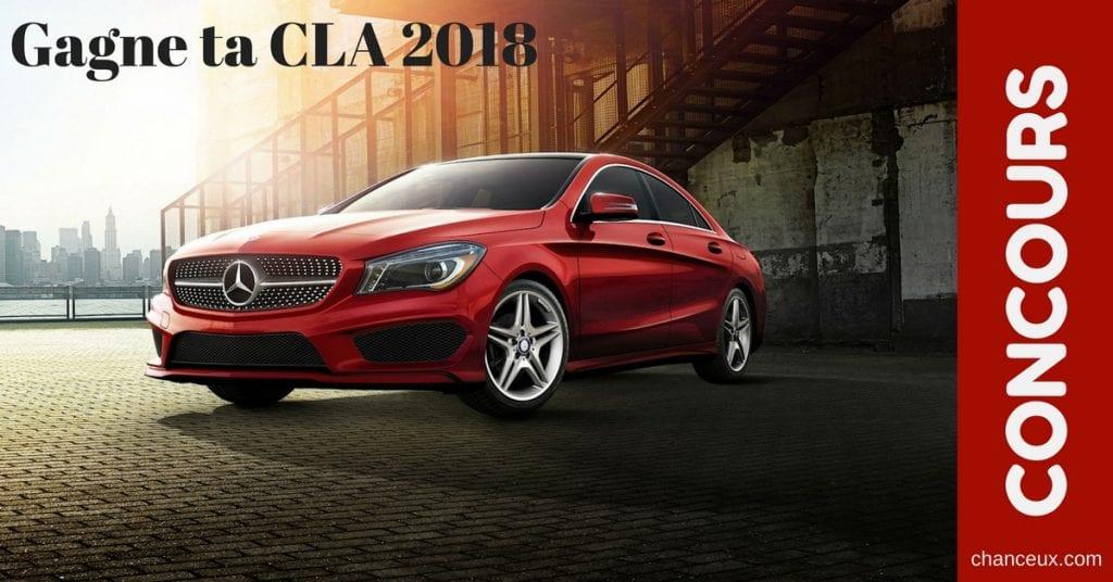 Une Mercedes à gagner pour une année ça vous dit?