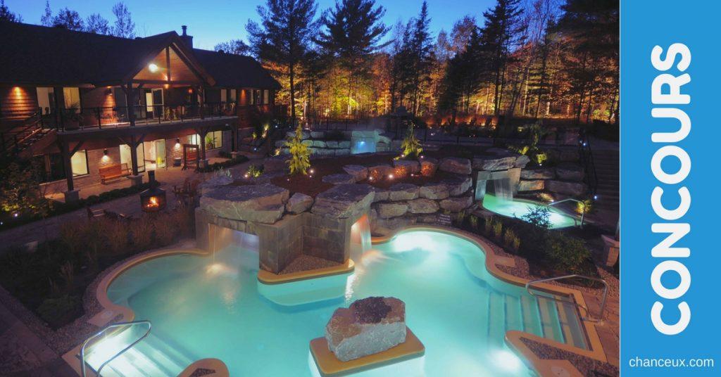 gagnez un s jour pour 2 au kinipi spa bains nordiques. Black Bedroom Furniture Sets. Home Design Ideas