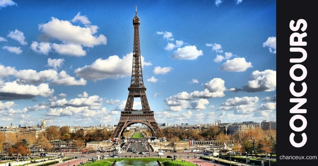 Gagnez un séjour pour 2 personnes à Paris !