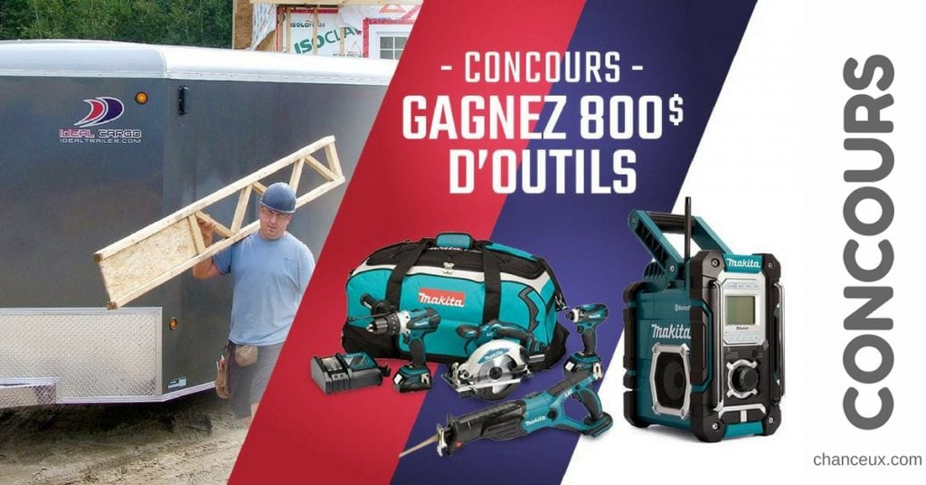 CONCOURS - Gagnez 800 $ d'outils Makita !