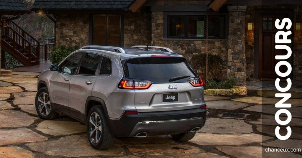Gagne un Jeep Cherokee 2019 redessiné !