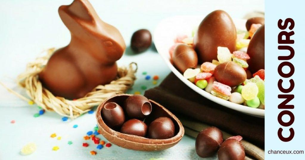 Gagnez 2 800gr de chocolat de Pâques !