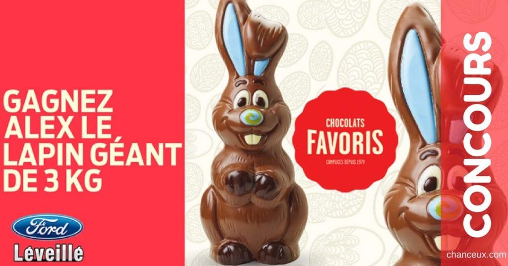 Gagnez 3 KG de chocolat!