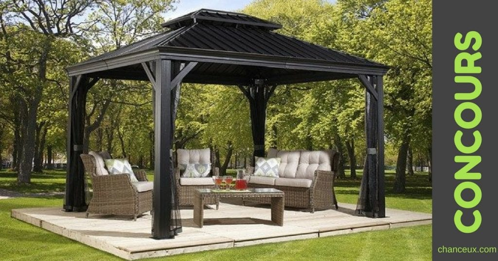 Gagnez ce magnifique ensemble de terrasse!