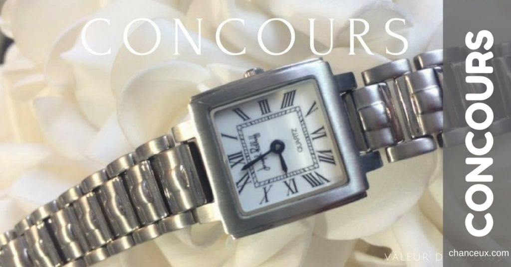Gagnez cette montre Joseph Ribkoff d'une valeur de 275.00$ !