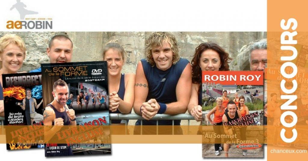 Gagnez des DVD d'entraînement de Robin Roy !