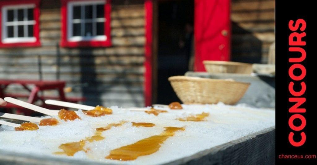 Gagnez l'une des 8 sorties familiales à la cabane à sucre !