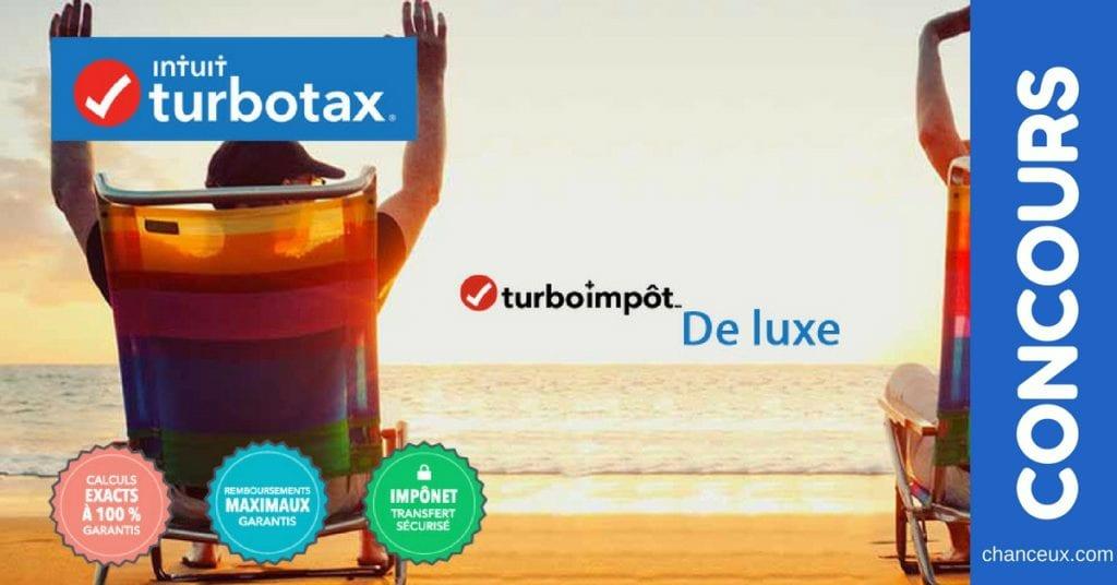Gagnez le logiciel TurboImpôt pour remplir votre déclaration d'impôt en ligne !