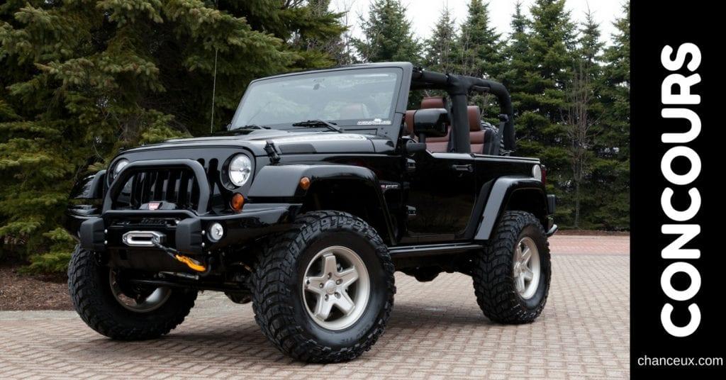 Gagnez un Jeep Wrangler pour vous promener cet été !