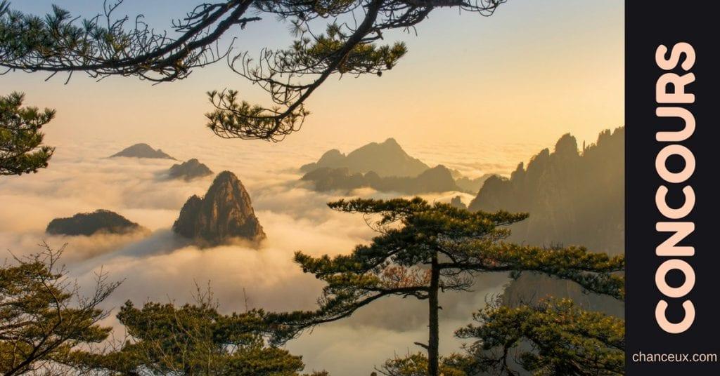 Gagnez un Voyage de 14 jours en Chine !