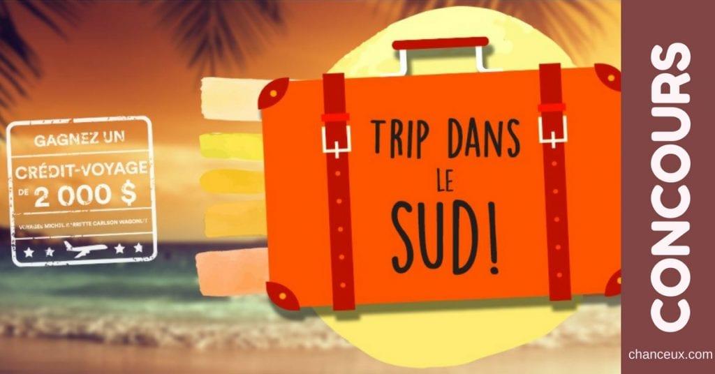 Gagnez un crédit-voyage de 2 000 $ avec Vacances Sunwing !