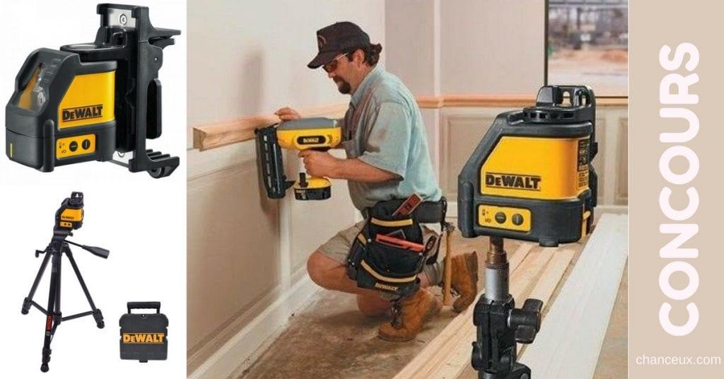 Gagnez un laser Dewalt Dw088K pour vos travaux manuels !