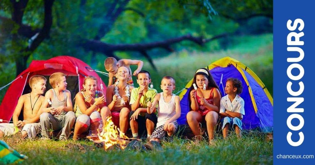 Gagnez un séjour en camp pour votre enfant !