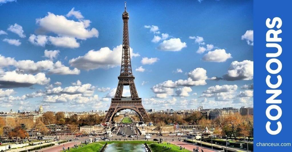 Gagnez un voyage à Paris pour deux personnes !