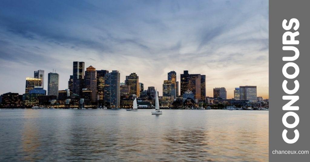 Gagnez une Escapade de 3 jours pour 2 personnes à Boston !