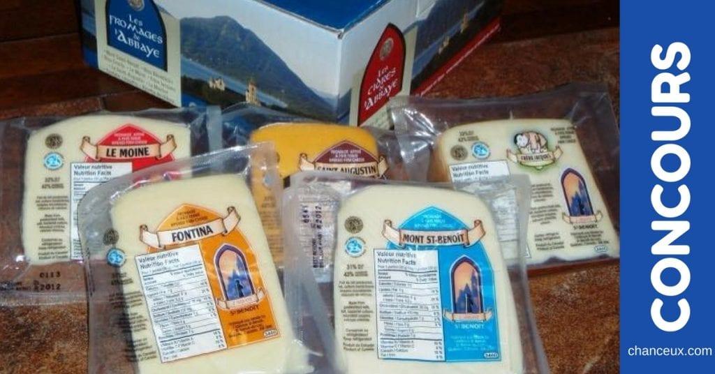 Gagnez une boîte de fromage d'une valeur de 35 $ !