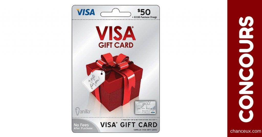 Gagnez une carte Mastercard Prépayé d'une valeur de 50$!