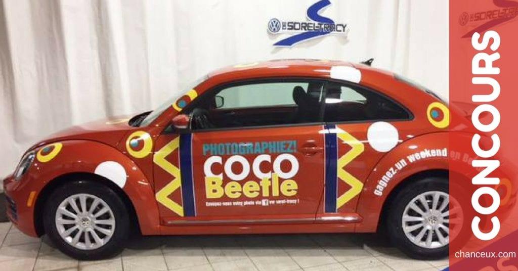 Gagnez une fin de semaine en Volkswagen Beetle !