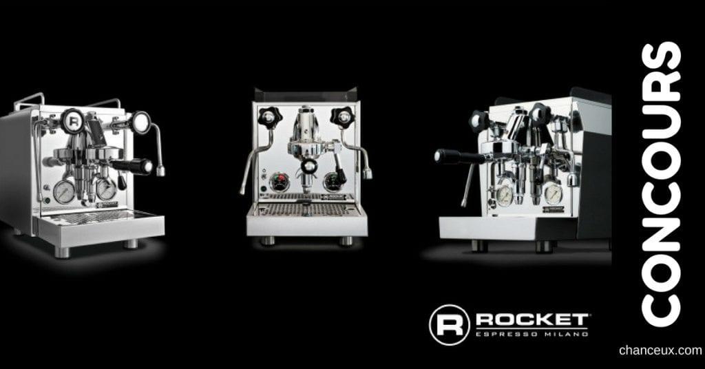 Gagnez une machine à café Rocket Espresso Milano !