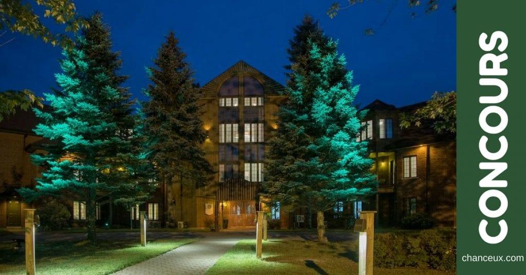 Gagnez une nuitée à l'Auberge du Lac St-Pierre!