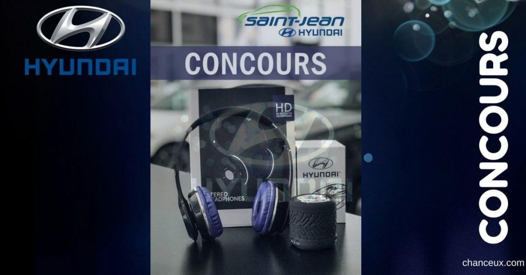 Gagnez une paire d'écouteurs et un speaker Bluetooth!