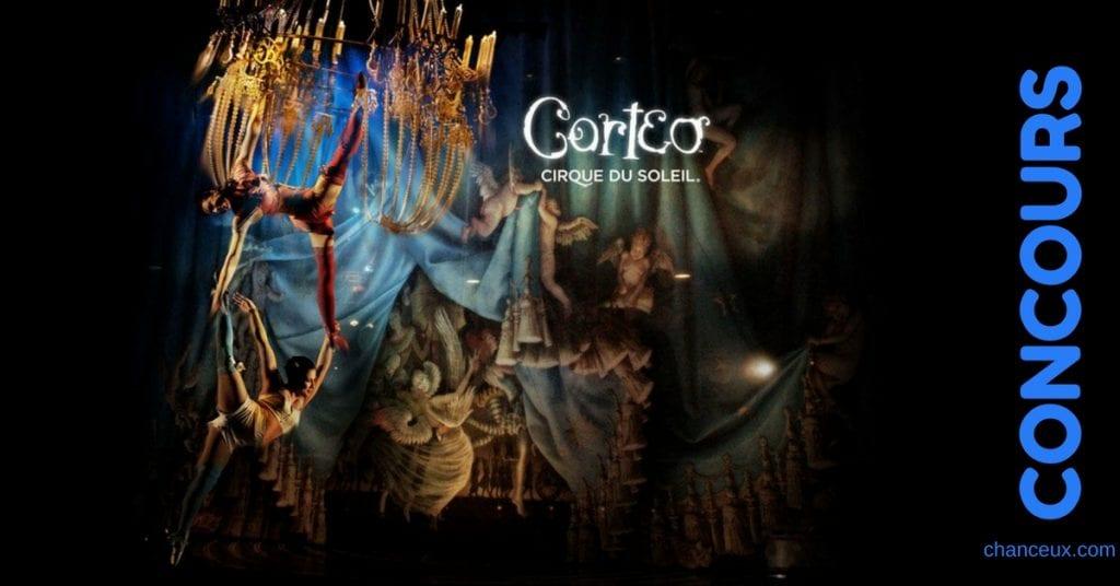 Gagnez vos billets pour CORTEO du Cirque du Soleil !