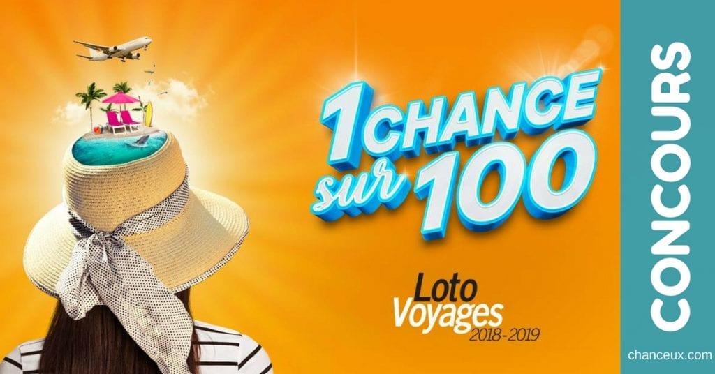 Gagnez votre billet pour la Loto Voyages !