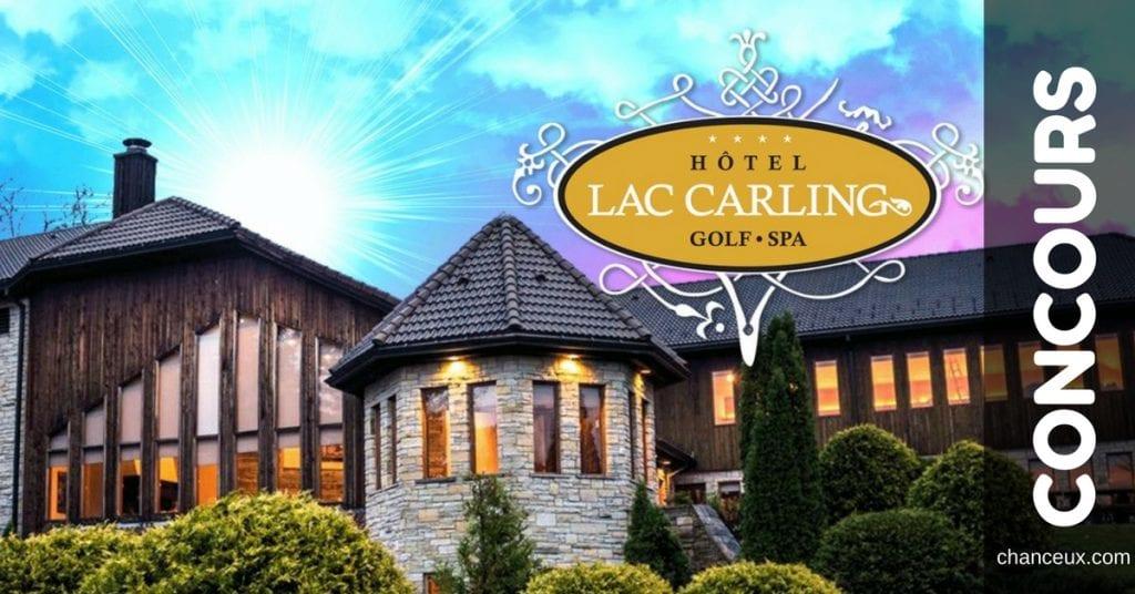 Gagnez votre weekend à l'Hôtel du Lac Carling !