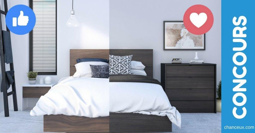 Concours Gagnez votre chambre Nexera d'une valeur de 946$!