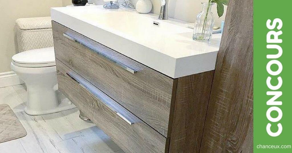 Gagnez 100 pied carré de cette magnifique céramique au style de bois!