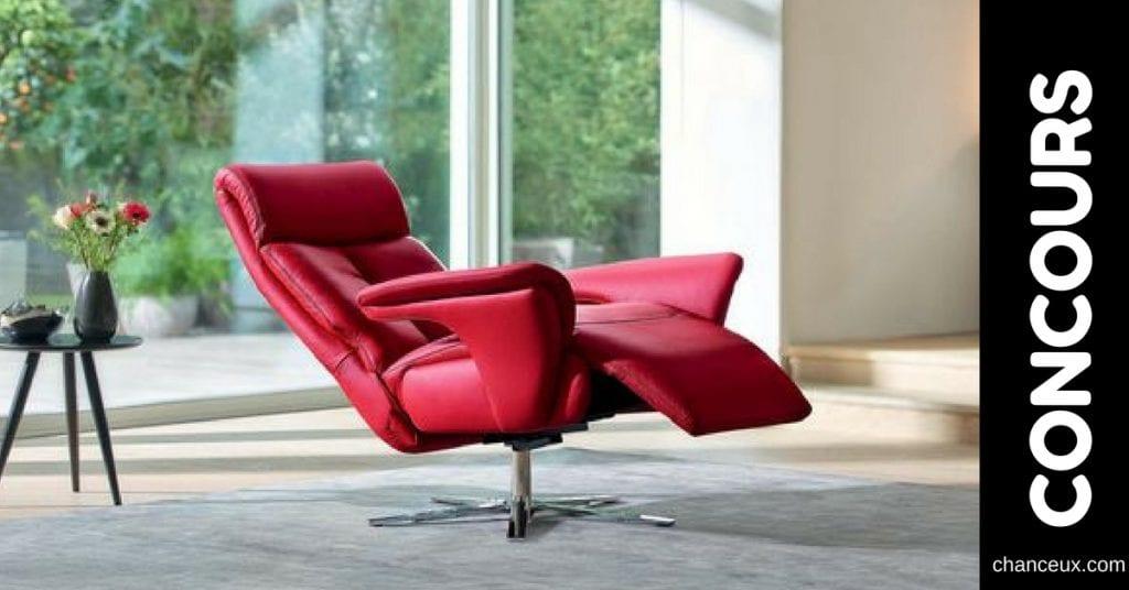 Gagnez l'un des deux fauteuils berçants, inclinables et pivotants RELAXON!
