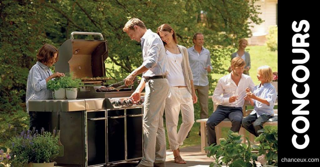 Gagnez un BBQ ainsi que ses accessoires de cuisson!