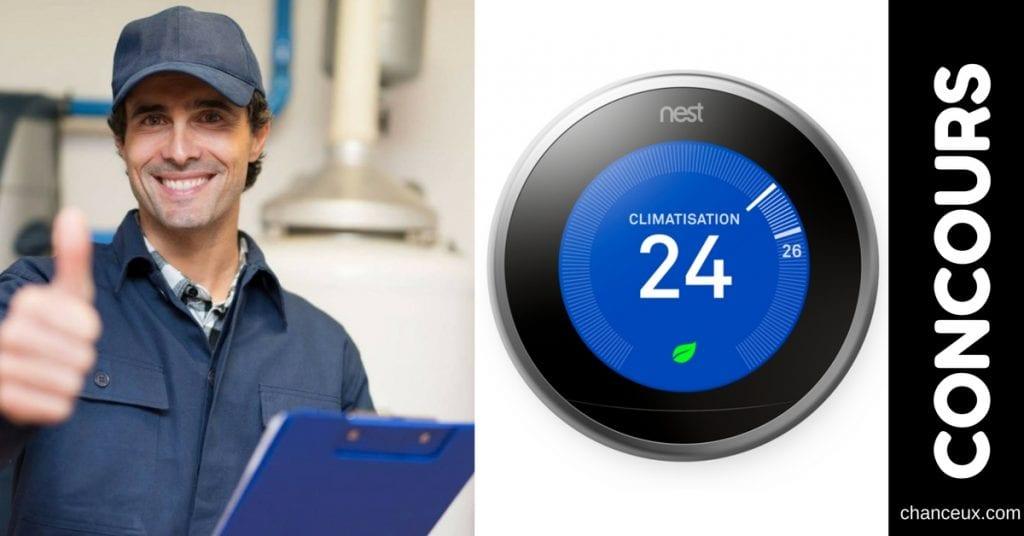 Gagnez un thermostat Nest de troisième génération!
